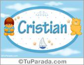 Cristian - Nombres para bebé