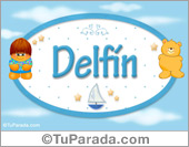 Nombre Delfín - Nombre para bebé