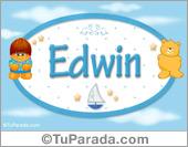 Edwin - Nombre para bebé