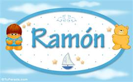 Ramón - Nombre para bebé