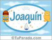 Joaquín - Nombre para bebé