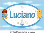 Luciano - Nombre para bebé