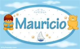 Mauricio - Nombre para bebé