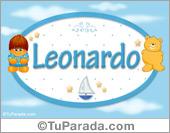 Leonardo - Nombre para bebé