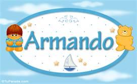 Armando - Nombre para bebé
