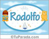 Rodolfo - Nombre para bebé