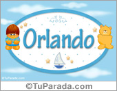 Orlando - Nombre para bebé