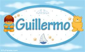 Guillermo - Nombre para bebé