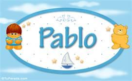 Pablo - Nombre para bebé