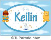 Keilin - Nombre para bebé