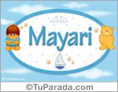 Nombre Nombre para bebé, Mayari