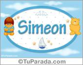 Simeon - Nombre para bebé