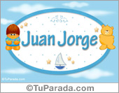 Juan Jorge - Nombre para bebé