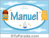 Nombre Nombre para bebé, Manuel