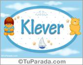 Nombre Nombre para bebé, Klever