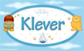 Klever - Nombre para bebé