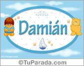 Damián - Nombre para bebé