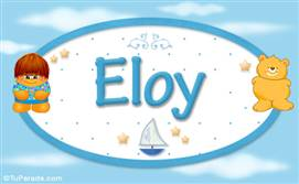 Eloy - Nombre para bebé