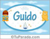 Nombre Nombre para bebé, Guido