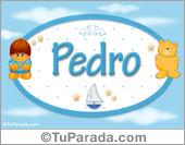 Nombre Nombre para bebé, Pedro