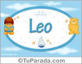Leo - Nombre para bebé