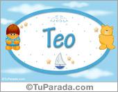 Teo - Nombre para bebé