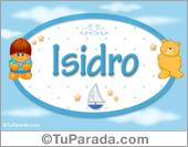 Isidro - Nombre para bebé