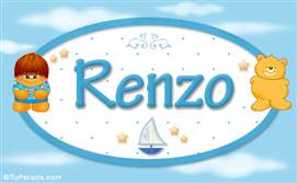 Renzo - Nombre para bebé