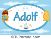 Adolf - Nombre para bebé