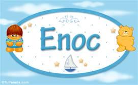 Enoc - Nombre para bebé