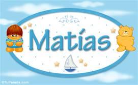 Matías - Nombre para bebé