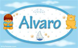 Alvaro - Nombre para bebé