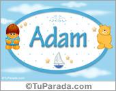 Adam - Nombre para bebé
