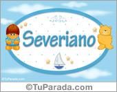 Severiano - Nombre para bebé