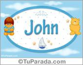 John - Nombre para bebé