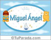Nombre Nombre para bebé, Miguel Ángel