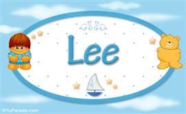 Lee - Nombre para bebé