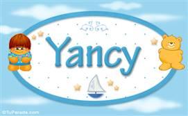 Yancy - Nombre para bebé
