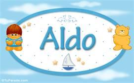 Aldo - Nombre para bebé