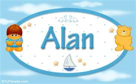Alan - Nombre para bebé