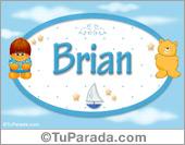 Brian - Nombre para bebé