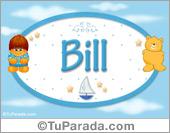 Bill - Nombre para bebé