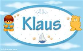 Klaus - Nombre para bebé