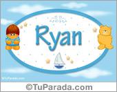 Ryan - Nombre para bebé