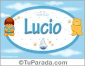 Nombre Nombre para bebé, Lucio