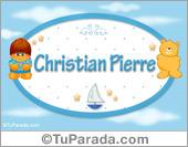 Christian Pierre - Nombre para bebé