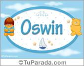 Nombre Nombre para bebé, Oswin