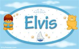 Elvis - Nombre para bebé