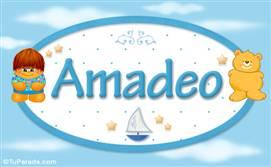 Amadeo - Nombre para bebé