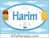 Harim - Nombre para bebé